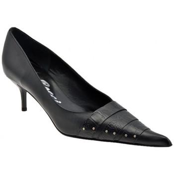 Schuhe Damen Pumps Bocci 1926 Verschraubt Heel 50 plateauschuhe Schwarz