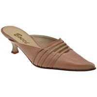 Schuhe Damen Pantoletten / Clogs Bocci 1926 T.36050Spoolsabot Braun