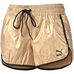 Kleidung Damen Shorts / Bermudas Puma Gold Short