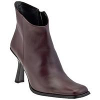Schuhe Damen Low Boots Bocci 1926 T.90-Buchse halbstiefel Braun