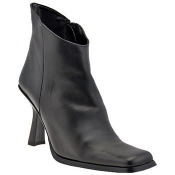 Schuhe Damen Low Boots Bocci 1926 T.90-Buchse halbstiefel Schwarz
