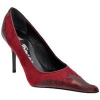 Schuhe Damen Pumps Bocci 1926 TexanT.90plateauschuhe Multicolor