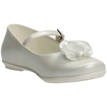 Schuhe Mädchen Ballerinas Le Petit Bijou 0000400 Ballerinaschuhe Mädchen Weiss Weiss