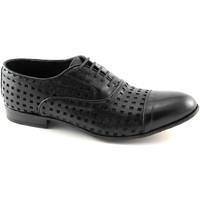 Schuhe Herren Richelieu J.p. David 34337 schwarzer Männer formale Schuhe Zehe Leder Brogues aus It Nero