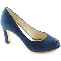 Schuhe Damen Pumps Malù Malù LES-9000-A-DE Blu