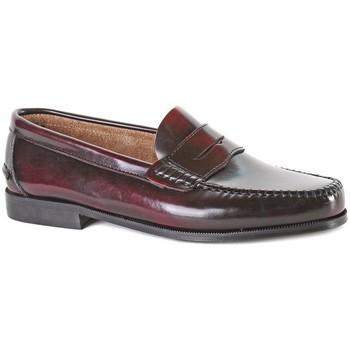 Schuhe Herren Slipper Castellanos Artesanos  Rot