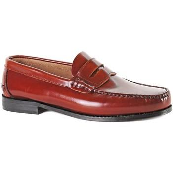 Schuhe Herren Slipper Castellanos Artesanos  Braun