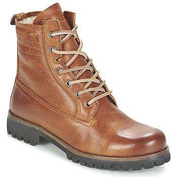 Schuhe Damen Boots Blackstone MAZINE Braun
