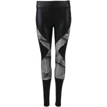Kleidung Damen Leggings Zobha Legging  Onyx Black Mesh 40