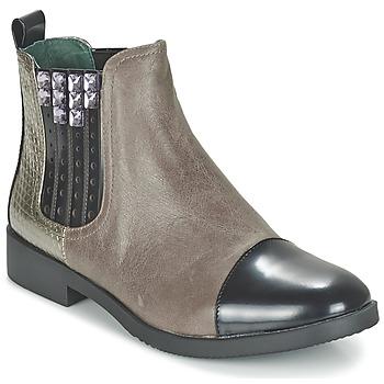 Schuhe Damen Boots Café Noir BARBERINE Maulwurf