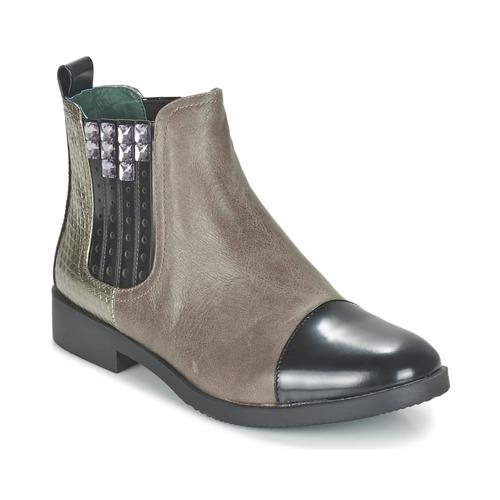 Café Noir BARBERINE Maulwurf  Schuhe Boots Damen 127,20