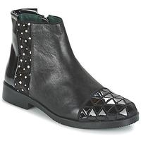 Schuhe Damen Boots Café Noir BARTHY Schwarz