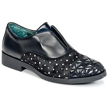 Schuhe Damen Derby-Schuhe Café Noir BASILE Schwarz