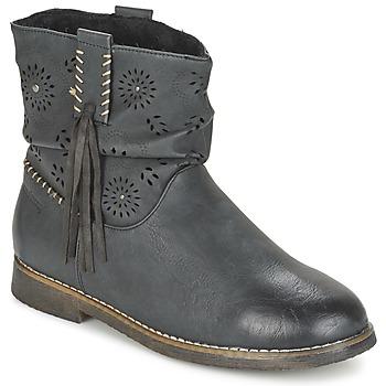 Schuhe Damen Boots Coolway BAILI Schwarz