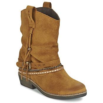 Schuhe Damen Boots Coolway BIRK Braun