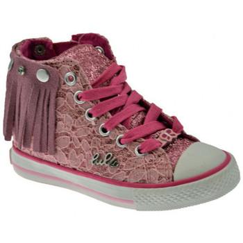 Schuhe Mädchen Sneaker High Lulu Frangetta Lace sportstiefel