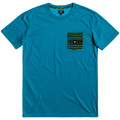 Kleidung Herren T-Shirts DC Shoes Space port crew Blau