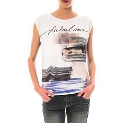Kleidung Damen T-Shirts Little Marcel Tee shirt Timoti Noir Schwarz