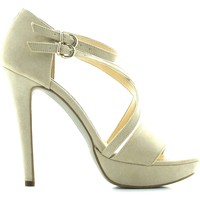 Schuhe Damen Sandalen / Sandaletten Margot.loi By Bottega Lotti 2931 High heeled sandals Frauen Beige Beige