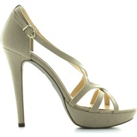 Schuhe Damen Sandalen / Sandaletten Margot.loi By Bottega Lotti 2933 High heeled sandals Frauen Beige Beige