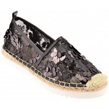 Schuhe Damen Leinen-Pantoletten mit gefloch Gold&gold Espadrillas mokassin halbschuhe