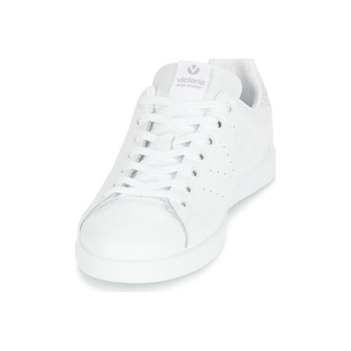 Victoria DEPORTIVO BASKET PIEL Weiss / Silbern  Schuhe Schuhe Schuhe Sneaker Low Damen 47,20 309daa