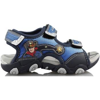 Schuhe Kinder Sportliche Sandalen Geox STRIKE A. BLAU