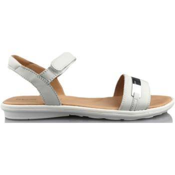 Schuhe Mädchen Sandalen / Sandaletten Geox SAND MILK WEIB