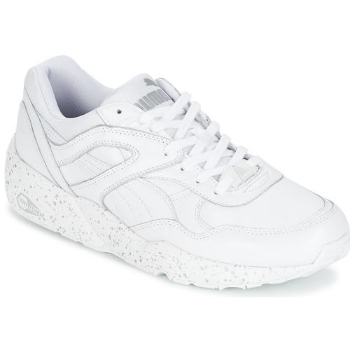 54baa735ee Puma R698 SPECKLE Weiss / Silbern - Schuhe Sneaker Low Herren 68,09 €