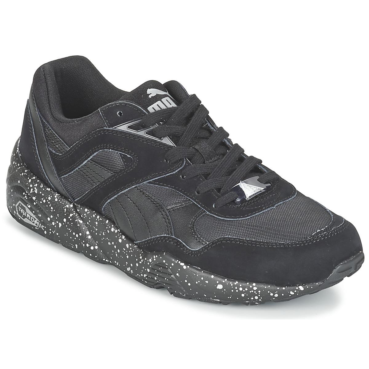 Puma R698 SPECKLE V2 Schwarz / Silbern - Kostenloser Versand bei Spartoode ! - Schuhe Sneaker Low Herren 66,49 €