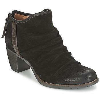 Schuhe Damen Ankle Boots Dkode CARTER Schwarz