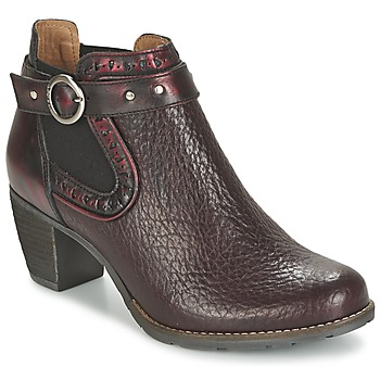 Schuhe Damen Ankle Boots Dkode CLOA Bordeaux