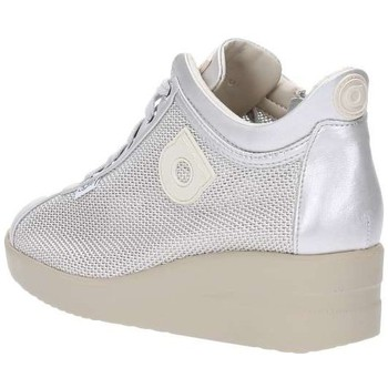 Schuhe Damen Sneaker Low Rucoline Ruco Line <agile> 226 NEW ARGEGNO Sneakers Frau Silber Silber