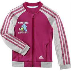 Kleidung Mädchen Trainingsjacken adidas Performance Disney monsters university track top Rose