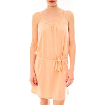 Kleidung Damen Kurze Kleider Little Marcel Litlle Marcel Robe Reira Orange Orange