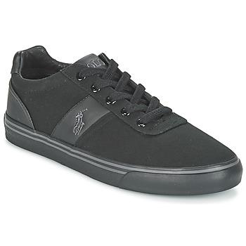 Schuhe Herren Sneaker Low Ralph Lauren HANFORD-NE Schwarz