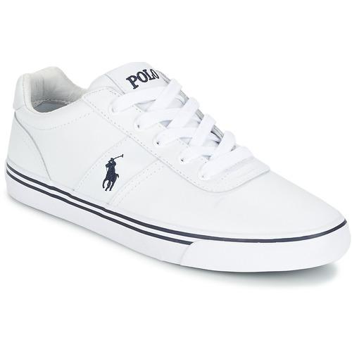 Schuhe Herren Sneaker Low Polo Ralph Lauren HANFORD Weiss