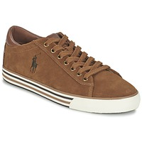 Schuhe Herren Sneaker Low Ralph Lauren HARVEY Cognac