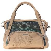 Taschen Damen Handtasche Smash Sac cartable Pomme Beige Beige
