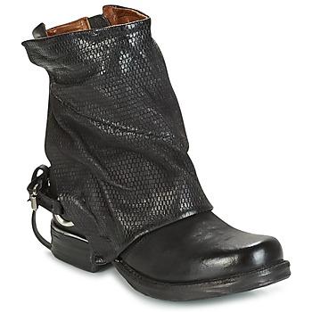 Schuhe Damen Boots Airstep / A.S.98 SAINT PI Schwarz