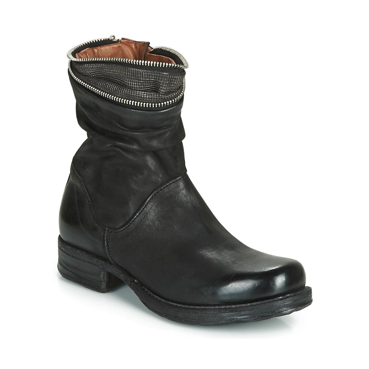 Airstep / AS98 SAINT LA Schwarz - Kostenloser Versand bei Spartoode ! - Schuhe Boots Damen 235,00 €