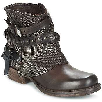 Schuhe Damen Boots Airstep / A.S.98 SAINT LU Braun