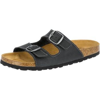 Schuhe Herren Hausschuhe Lico Natural Elefo grau