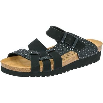 Schuhe Damen Hausschuhe Lico BIOLINE NOBLE schwarz
