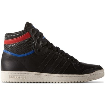 Schuhe Herren Sneaker High adidas Originals Top Ten HI Clean Iconics Weiß-Rot-Schwarz