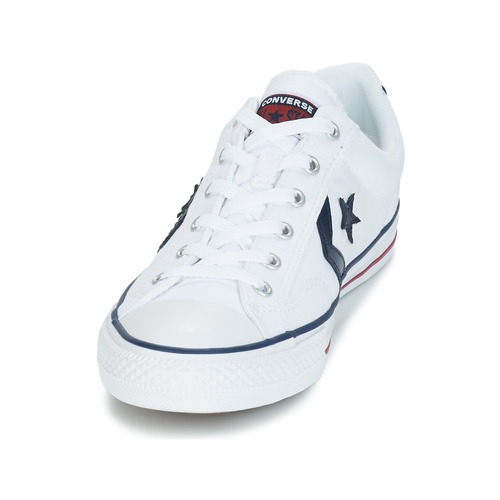 Converse STAR PLAYER OX Weiss Schuhe Sneaker Low Herren 51,99