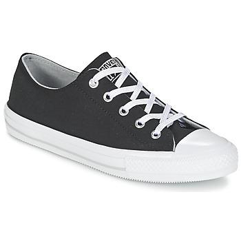 Schuhe Damen Sneaker Low Converse GEMMA TWILL OX Schwarz