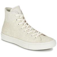 Schuhe Sneaker High Converse CHUCK TAYLOR ALL STAR II  CAOUTCHOUC HI Beige