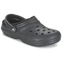 Schuhe Pantoletten / Clogs Crocs CLASSIC LINED CLOG Schwarz