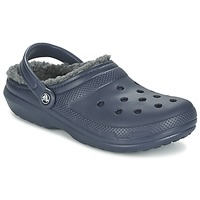 Schuhe Pantoletten / Clogs Crocs CLASSIC LINED CLOG Marine / Grau